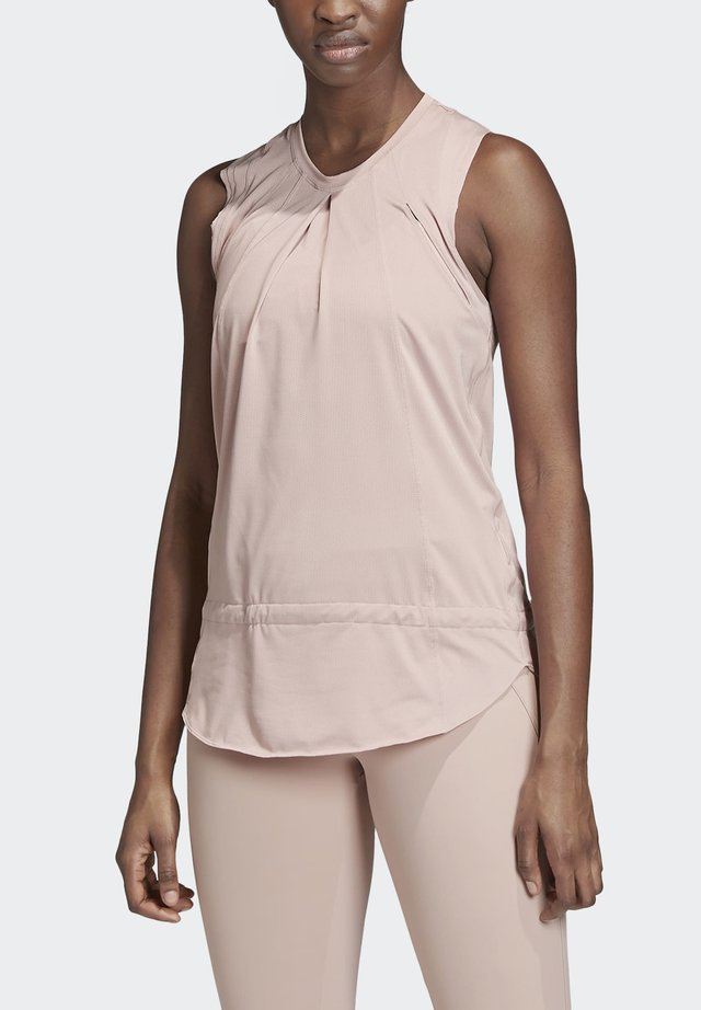 TRAINING SOFT TANK TOP - Top - pink