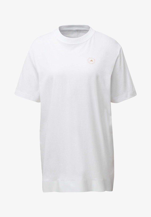 COTTON T-SHIRT - T-shirts med print - white