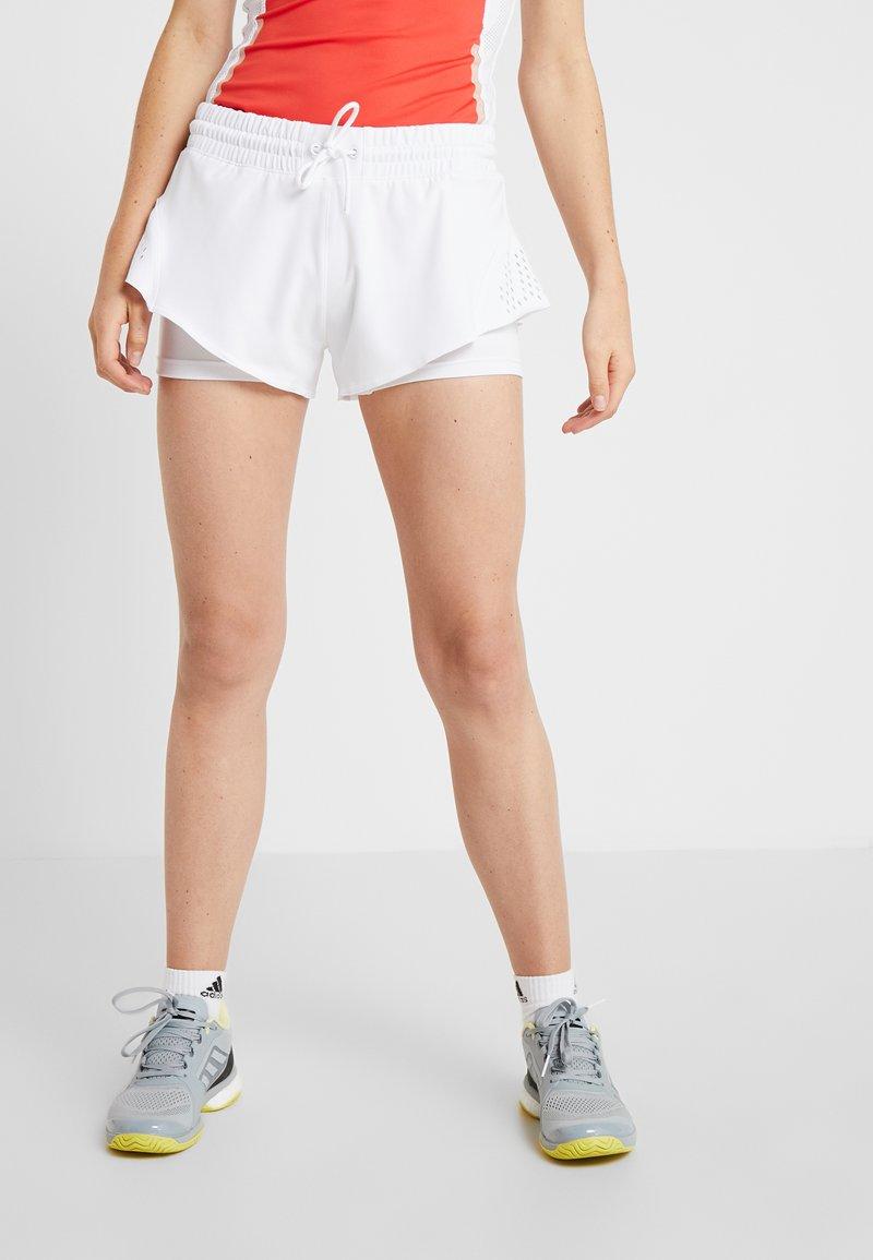 adidas by Stella McCartney - SHORT - kurze Sporthose - white