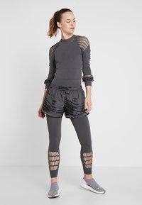 adidas by Stella McCartney - M20 SPORT CLIMASTORM RUNNING SHORTS - Sports shorts - grey five - 1