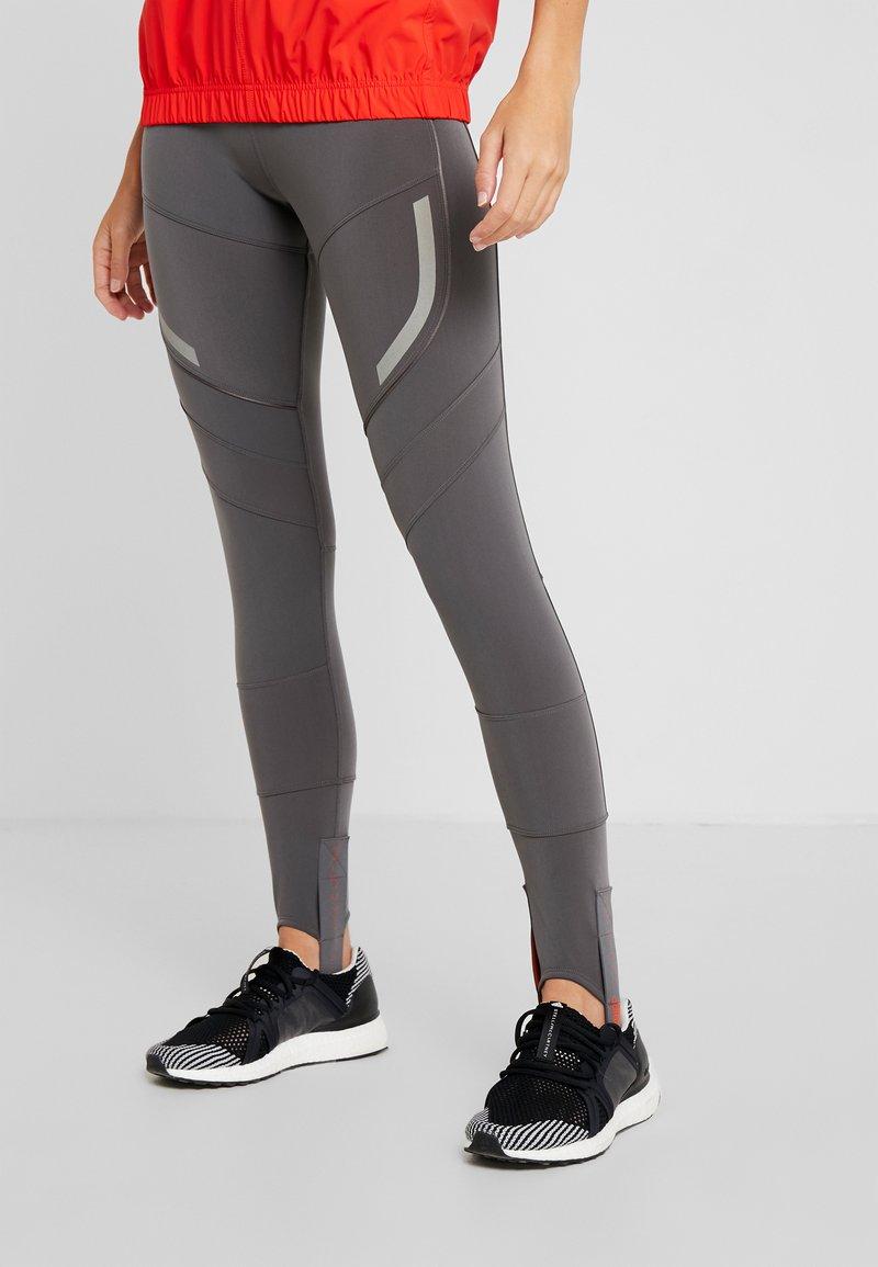 adidas by Stella McCartney - SPORT CLIMAHEAT RUNNING LONG LEGGINGS - Leggings - grey five