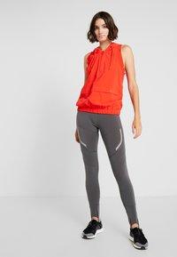 adidas by Stella McCartney - SPORT CLIMAHEAT RUNNING LONG LEGGINGS - Tights - grey five - 1