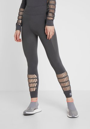 PARLEY SPORT WARP KNIT WORKOUT LEGGINGS - Tights - grey five