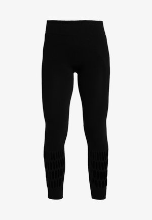 PARLEY SPORT WARP KNIT WORKOUT LEGGINGS - Leggings - black