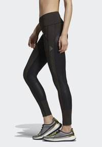 adidas by Stella McCartney - TRAINING BELIEVE THIS LEGGINGS - Collants - black