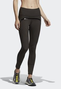 adidas by Stella McCartney - TRAINING BELIEVE THIS LEGGINGS - Collants - black - 0