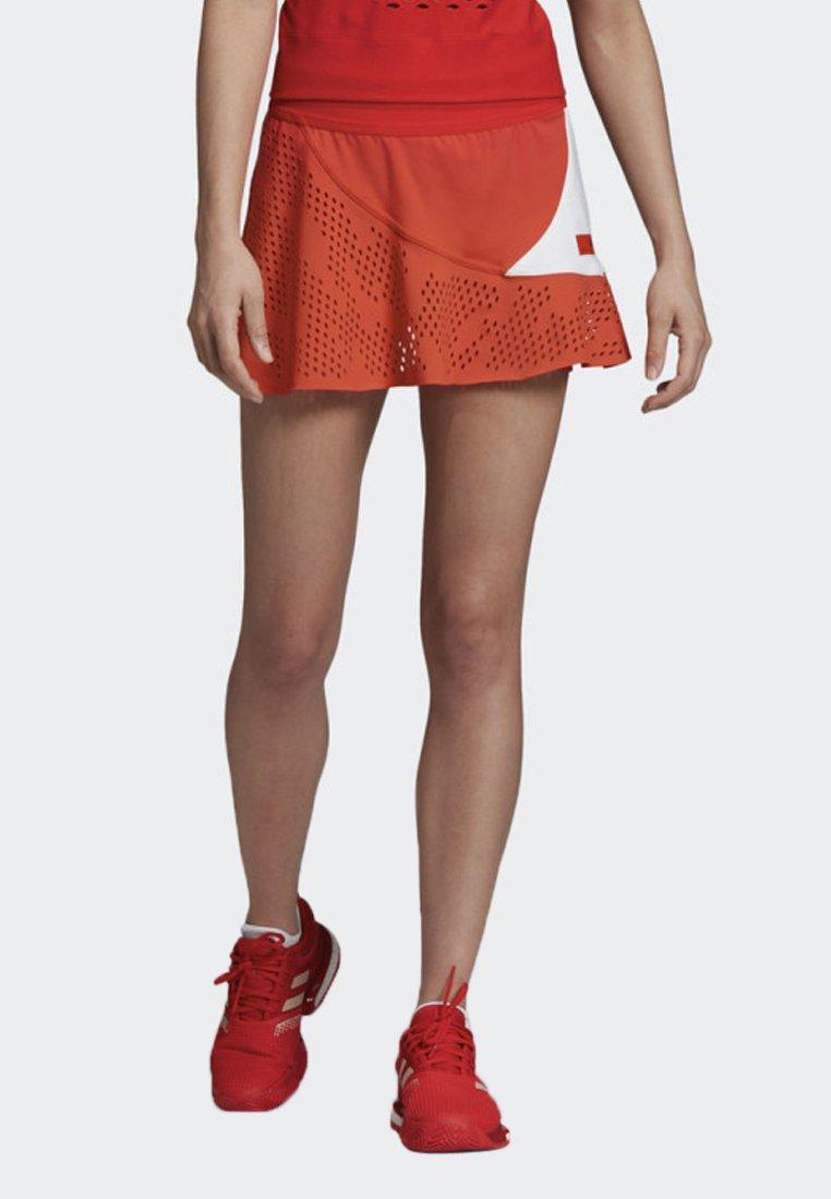 adidas by Stella McCartney - ADIDAS BY STELLA MCCARTNEY COURT SKIRT - Sportrock - red