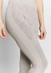adidas by Stella McCartney - Leggings - light brown/ice grey - 4