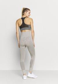 adidas by Stella McCartney - Leggings - light brown/ice grey - 2