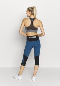 adidas by Stella McCartney - RUN  - 3/4 sports trousers - black/blue - 2