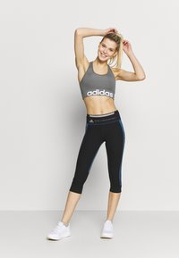 adidas by Stella McCartney - RUN  - 3/4 sports trousers - black/blue - 1