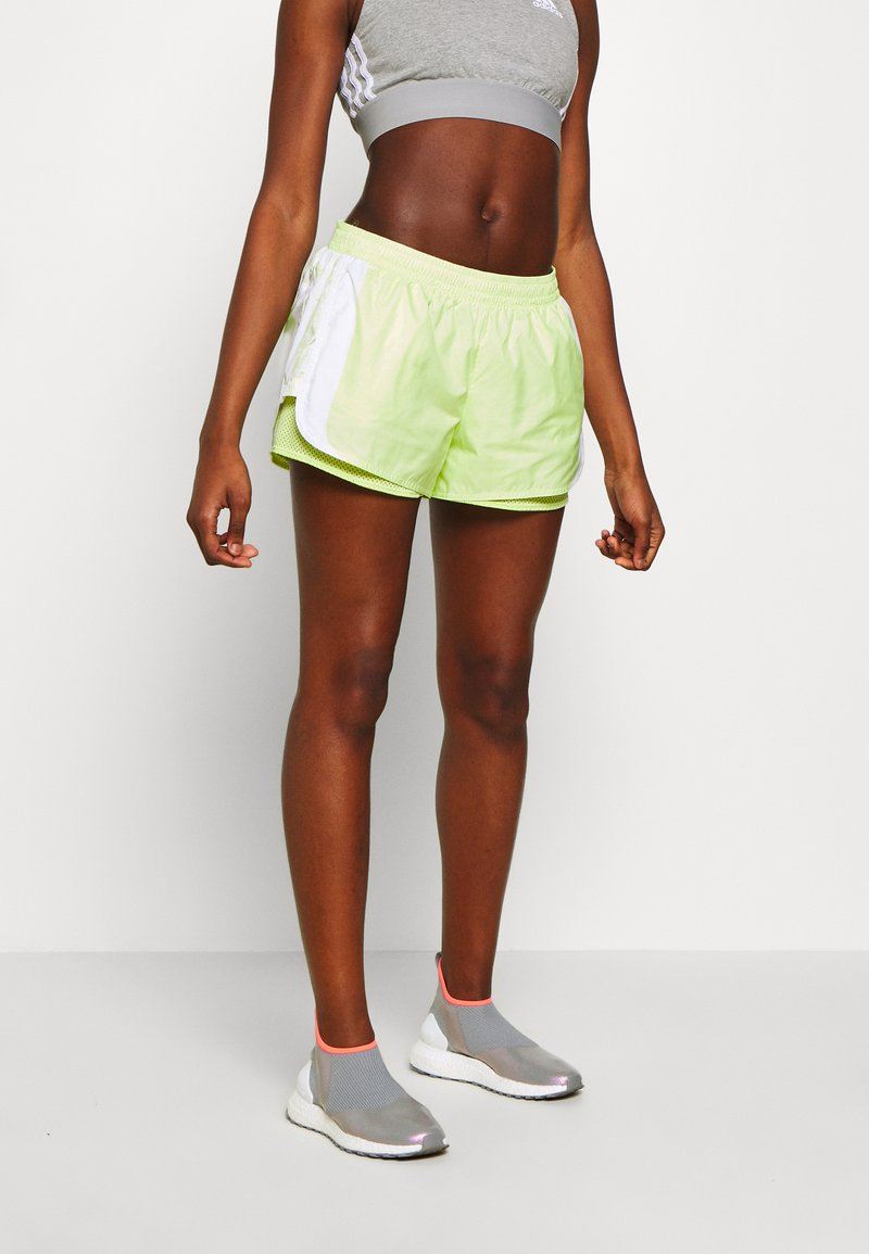 adidas by Stella McCartney - SHORT - kurze Sporthose - white/sefrye