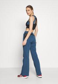 adidas by Stella McCartney - TRACKPANT - Träningsbyxor - blue - 2