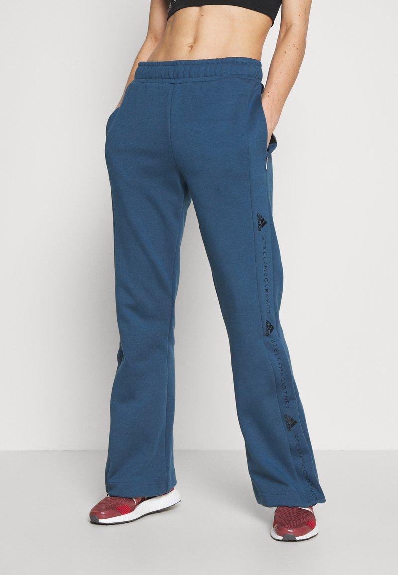 adidas by Stella McCartney - TRACKPANT - Träningsbyxor - blue