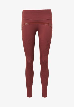 TRAINING BELIEVE THIS LEGGINGS - Tights - red