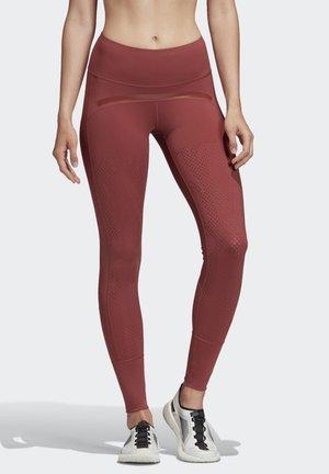 TRAINING BELIEVE THIS LEGGINGS - Collants - red
