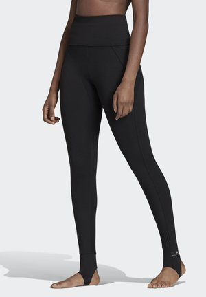 TRAINING COMFORT LEGGINGS - Leggings - black