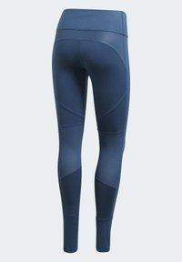 adidas by Stella McCartney - TRAINING BELIEVE THIS LEGGINGS - Tights - blue - 9