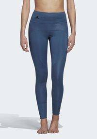 adidas by Stella McCartney - TRAINING BELIEVE THIS LEGGINGS - Tights - blue - 0