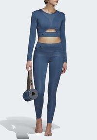 adidas by Stella McCartney - TRAINING BELIEVE THIS LEGGINGS - Tights - blue - 1