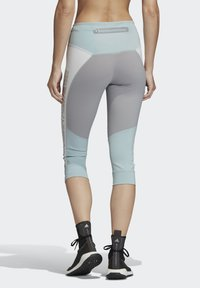 adidas by Stella McCartney - HEAT.RDY 3/4 LEGGINGS - Leggings - sterling blue - 2