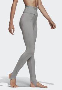 adidas by Stella McCartney - TRAINING COMFORT LEGGINGS - Leggings - grey - 4
