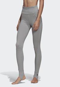 adidas by Stella McCartney - TRAINING COMFORT LEGGINGS - Leggings - grey - 0