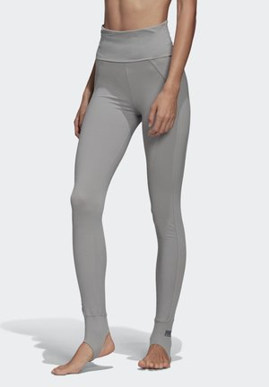 TRAINING COMFORT LEGGINGS - Leggings - grey