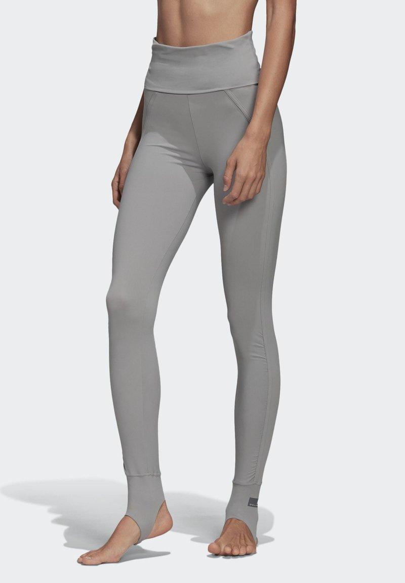 adidas by Stella McCartney - TRAINING COMFORT LEGGINGS - Leggings - grey