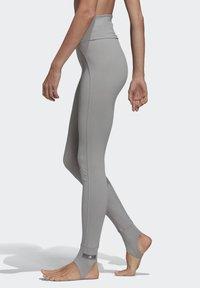 adidas by Stella McCartney - TRAINING COMFORT LEGGINGS - Leggings - grey - 3