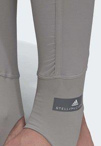 adidas by Stella McCartney - TRAINING COMFORT LEGGINGS - Leggings - grey - 7