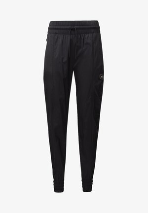 WOVEN JOGGERS - Tracksuit bottoms - black