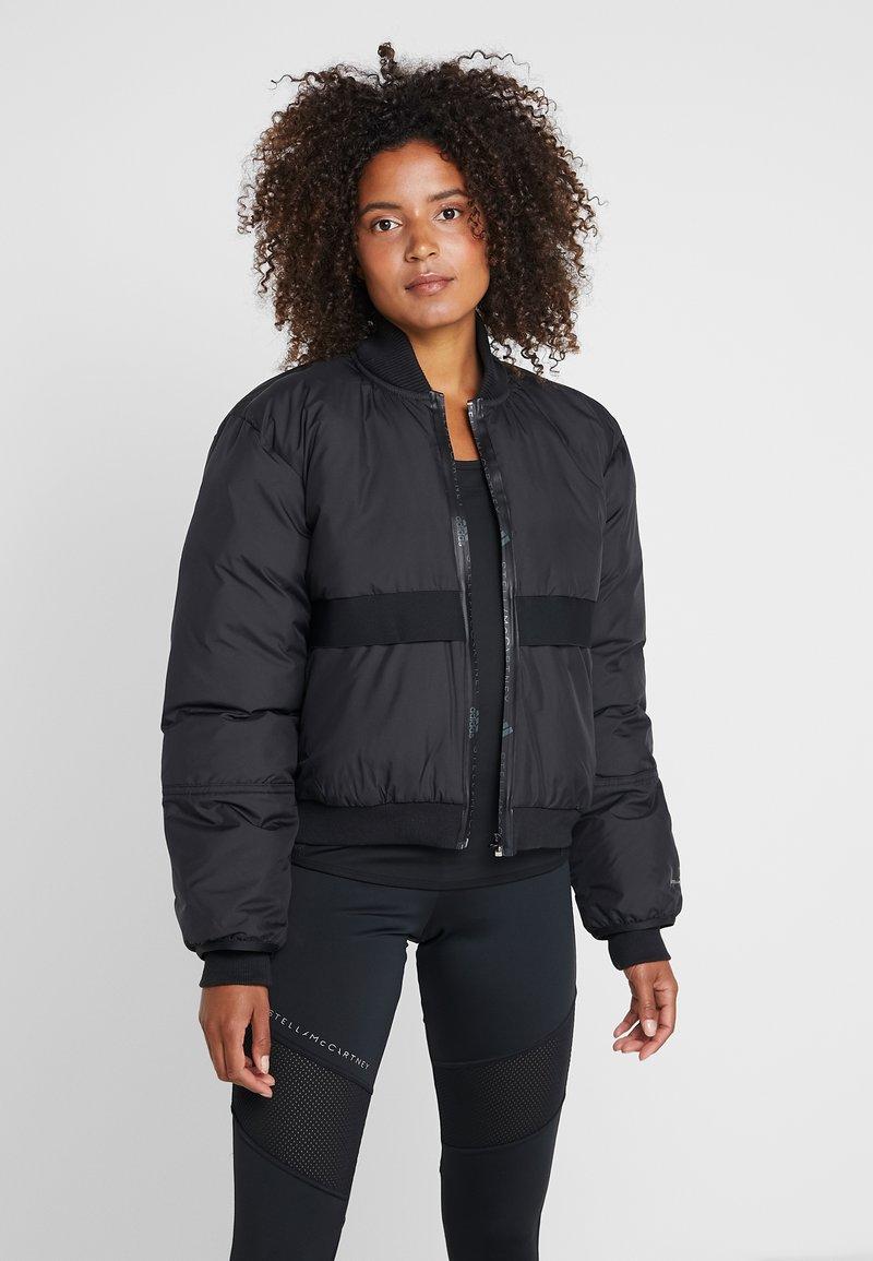adidas by Stella McCartney - ATHLETIC SPORT PADDED BOMBERJACKET - Winter jacket - black
