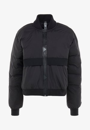 ATHLETIC SPORT PADDED BOMBERJACKET - Vinterjacka - black