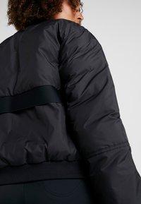 adidas by Stella McCartney - ATHLETIC SPORT PADDED BOMBERJACKET - Vinterjakke - black - 4