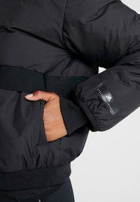 adidas by Stella McCartney - ATHLETIC SPORT PADDED BOMBERJACKET - Vinterjakke - black - 6