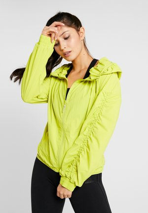 SPORT RUNNING LIGHT JACKET - Giacca sportiva - green