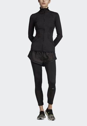 ESSENTIALS MID-LAYER TRACK TOP - Training jacket - black