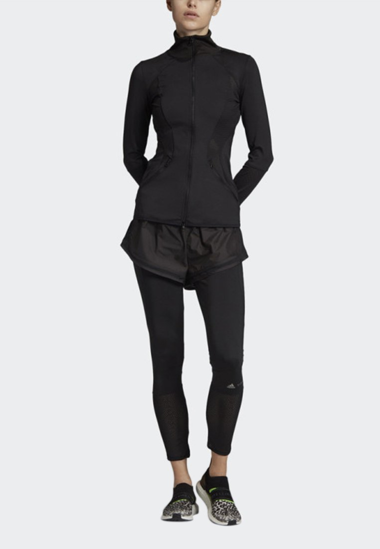 adidas by Stella McCartney - ESSENTIALS MID-LAYER TRACK TOP - Träningsjacka - black
