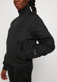 adidas by Stella McCartney - BOMBER - Lett jakke - black - 4
