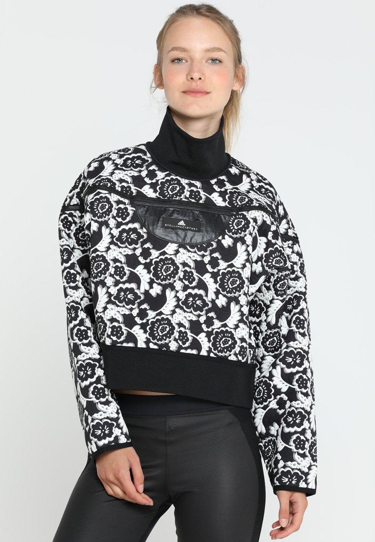 adidas by Stella McCartney - RUN  - Veste de survêtement - black/white
