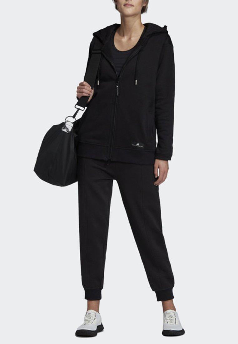 adidas by Stella McCartney - HOODIE - Felpa aperta - black