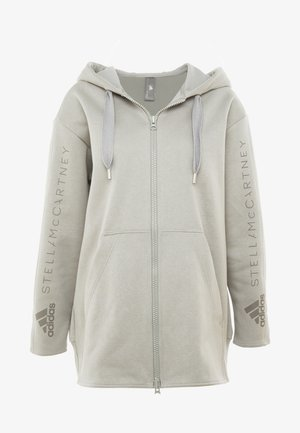 OVERSIZED HOOD - Sweatjacke - grey