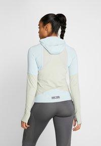 adidas by Stella McCartney - HOODED - Sports shirt - blue/grey - 2