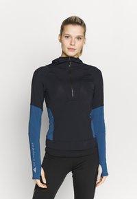 adidas by Stella McCartney - HOODED - Funktionströja - black/blue - 0