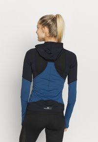 adidas by Stella McCartney - HOODED - Funktionströja - black/blue - 2