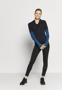 adidas by Stella McCartney - HOODED - Funktionströja - black/blue - 1