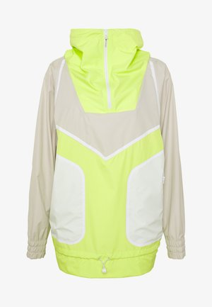 Windjack - tan/neon green