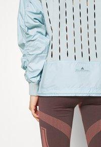 adidas by Stella McCartney - TECH SWEATER - Träningsjacka - blue - 5
