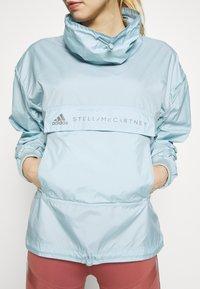 adidas by Stella McCartney - TECH SWEATER - Träningsjacka - blue - 3